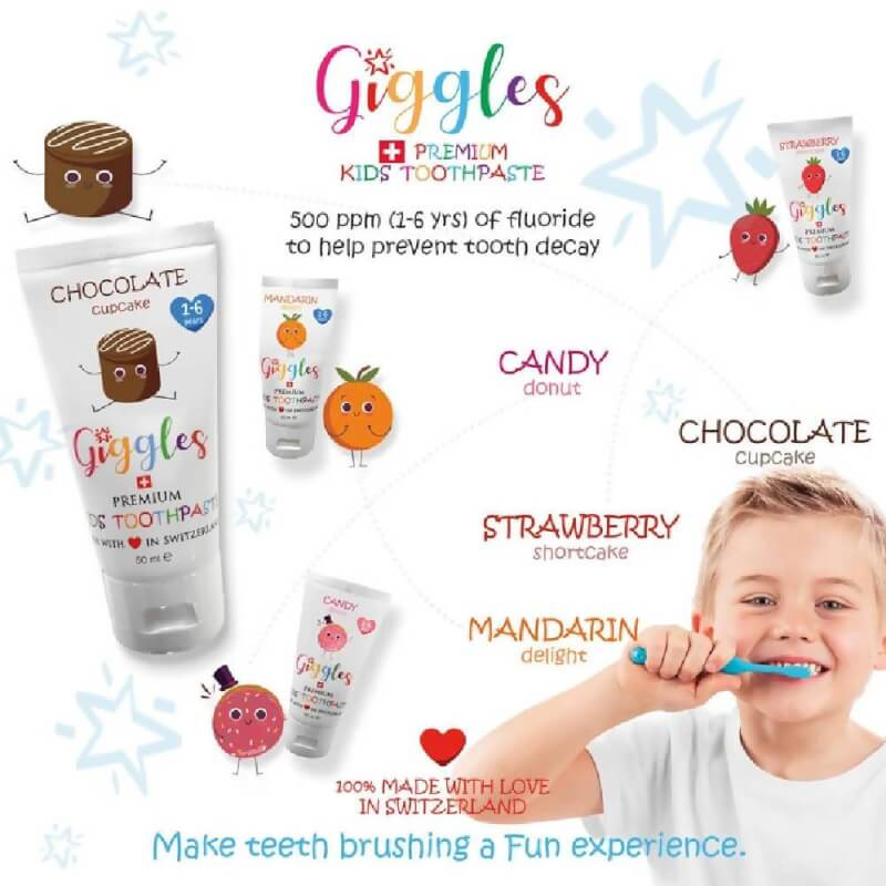 Trillium Sales and Distribution - Giggles Premium Kids Toothpaste