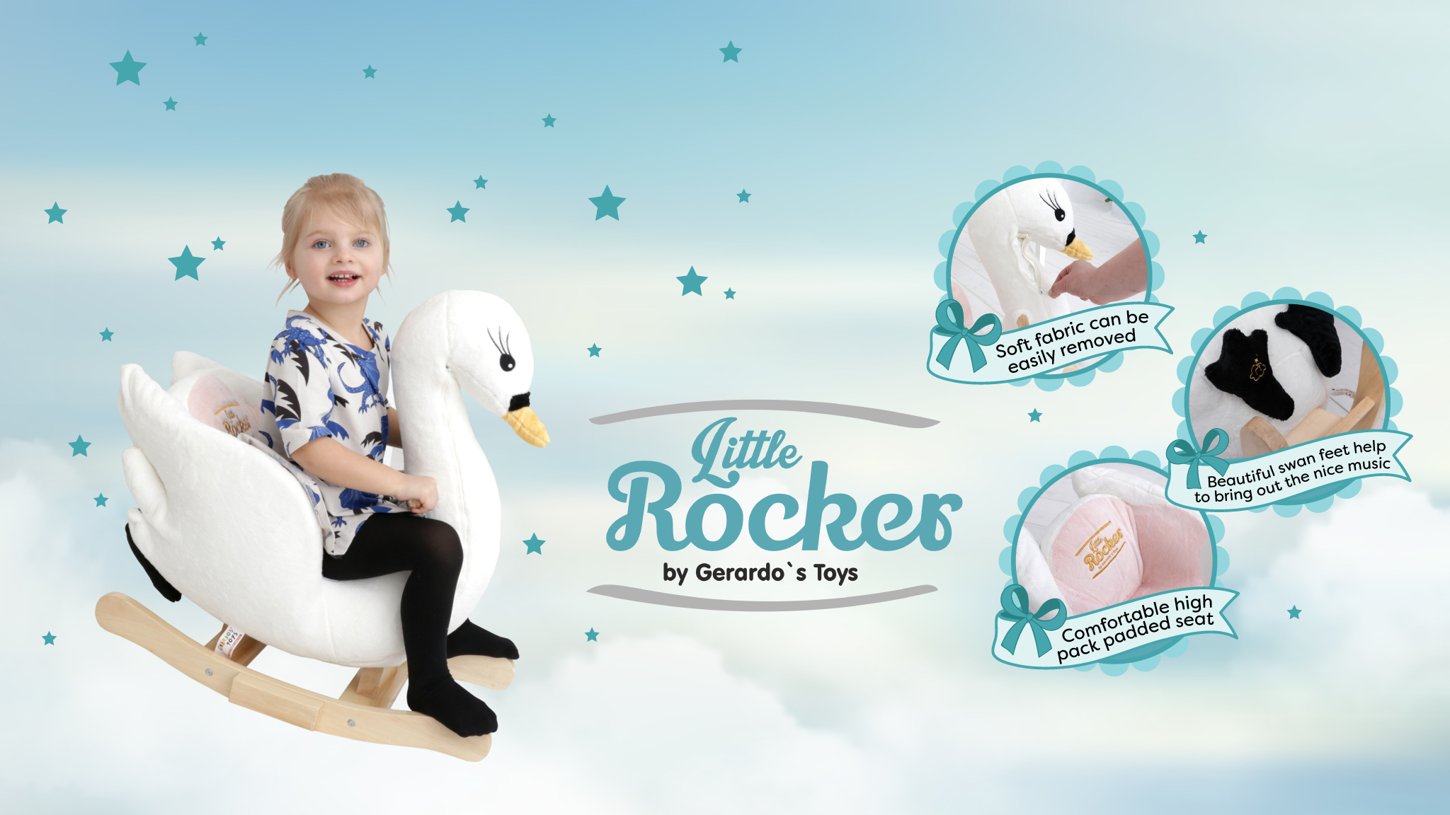 Trillium Sales and Distribution - Cute & Plush - Little Rockers